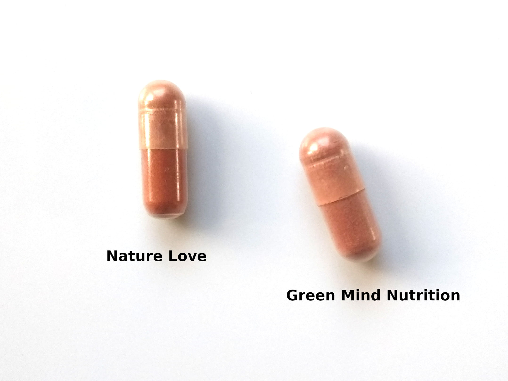 Nature Love vs. Green Mind Nutrition