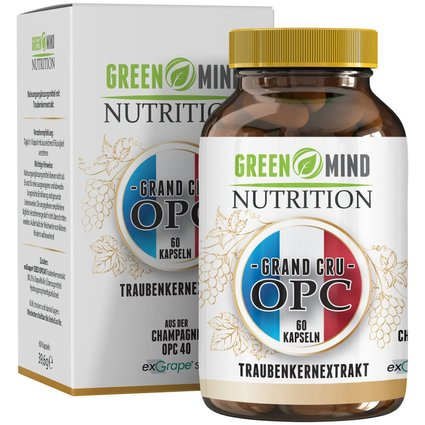 Dose exGrape SEED® OPC40 von Green Mind Nutrition